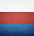Grunge Flag Of Russia vector image vector image