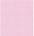 pink heart shape pattern vector image vector image