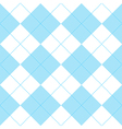 Blue White Diamond Background vector image vector image