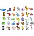 Cute Animal Icon Set vector image vector image