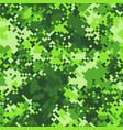 green slime halftones pixel clouds seamless vector image vector image