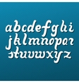 Lowercase Alphabet Letters vector image vector image