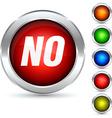 No button vector image