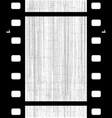 old blank film frame vector image