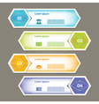 Progress Background Product Choice or Version eps vector image vector image