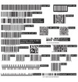 business universal product qr code and barcode vector image vector image