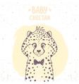 cheetah baby vector image