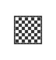 chess board icon isolated ancient intellectual vector image vector image