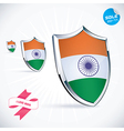 I Love India Flag vector image vector image