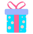icon of gift boxes vector image vector image