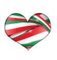 italianflag set convertito vector image vector image