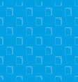 paper pattern seamless blue vector image vector image
