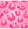 piggy bank seamless vector image