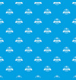 research laboratory pattern seamless blue vector image vector image