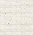 seamless beige brick wall vector image vector image