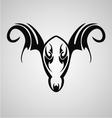 Aries Symbol vector image vector image
