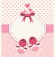 baby girl album vector image