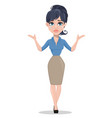 business woman crying vector image vector image