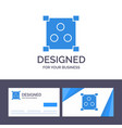 creative business card and logo template abstract vector image vector image