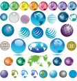 Globes vector | Price: 1 Credit (USD $1)