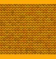 light and dark orange knit seamless pattern eps vector image