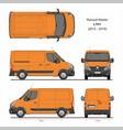 renault master cargo delivery van l1h1 2014-2019 vector image vector image