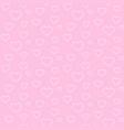 seamless geometric pattern white heart valentine vector image vector image