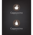 set of cafe coffee bar vector image vector image