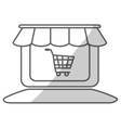 store shop icon image vector image vector image