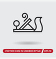 tool icon in modern style for web site and mobile vector image vector image