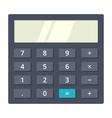 Black Calculator vector image vector image