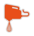 electric mixer isolated icon design vector image