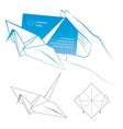 Origami symbolic vector | Price: 1 Credit (USD $1)
