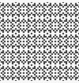 pixel square seamless pattern vector image