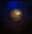 planet in space galaxy