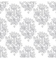 seamless pattern with a picture of dice a golden vector image
