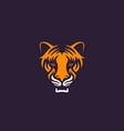 tiger logo vector image
