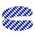 Bavarian Sausage vector image vector image