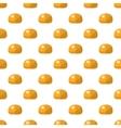 Bun pattern seamless vector image vector image