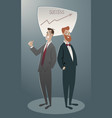business cartoon-04 vector image vector image