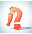 exclamation point vs question mark vector image