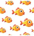 Goldfish background vector image vector image