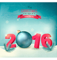 happy new year 2016 new year design template vector image vector image