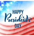Happy presidents day in usa card template poster