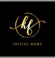 k f beauty logo inspiration luxury logo design