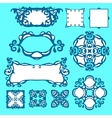 Set of Design elemets and borders vector image vector image