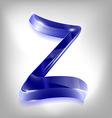 zeta vector image vector image