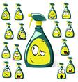 spray bottle cartoon vector image