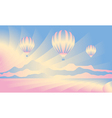 Air balloon in the sky vector image vector image
