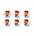 character business people avatar bearded